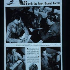 WACS with the Army Ground Forces. Reclassification - men back from the ...