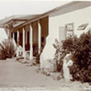 South veranda, Camulos, Ramona's Home, no. 99