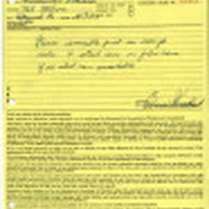 Orders for laboratory work [to] Bruce Herschensohn, Hollywood, Calif. [from] Consolidated Film ...