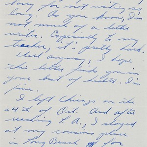 Letter from George Ohno to [Afton] Nance, 1946 Feb 25