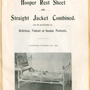 Hooper rest sheet and straight jacket combined