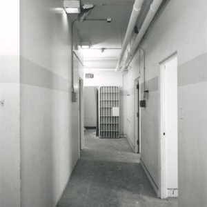 Interior of the Santa Monica City Hall Jail Wing designed by architects ...