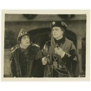 If I Were King: film still of William Farnum and an actor, ...