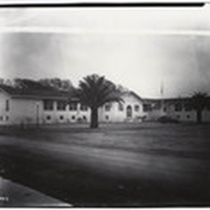 [Frontal view of Bates Union School in Courtland]