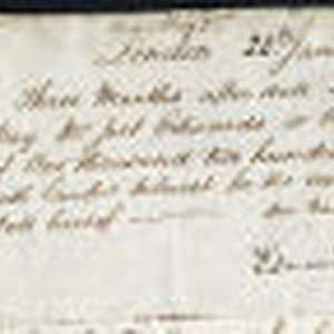 Contract between Edmund Kean and Joel Edwards, 28 January 1825; 15 April ...