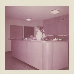 Interior views of Hillcrest Hospital, Petaluma, California, February 16, 1957