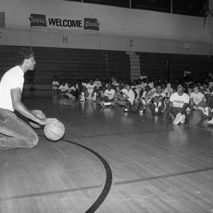 Clippers Basketball Camp, Los Angeles, 1985