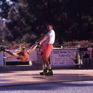 Rollerblade Performance on Campus