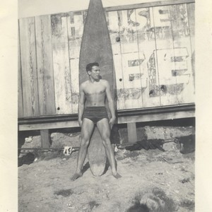 Harry Mayo at Cowell Beach