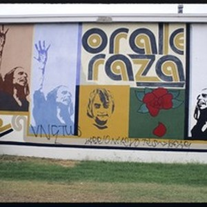 The murals of Estrada Courts. Orale Raza, Los Angeles, 1974-1979