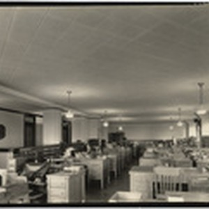 [Interior general view office Aetna Life Insurance Company Office building]