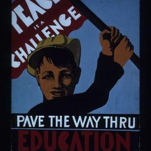 Peace is a challenge. Pave the way through education