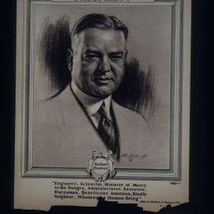 "Vote to continue prosperity. Herbert Hoover. ""Engineer, scientist, minister of mercy to ..."