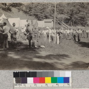 Los Angeles-Orange 4-H Club Camp, Big Pines, 1929