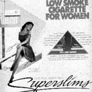 The First Low Smoke Cigarette For Women
