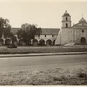 [Santa Barbara Mission] (2 views)