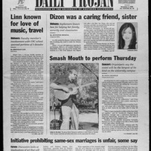 Daily Trojan, Vol. 138, No. 45, November 03, 1999