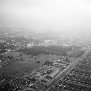 Norwalk Boulevard, Metropolitan State Hospital, looking southeast