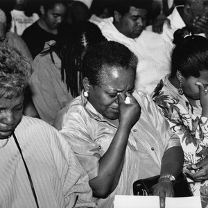 Tears for Rodney King Verdict, Los Angeles, 1992