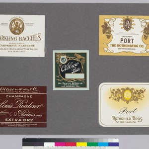 Album page of labels