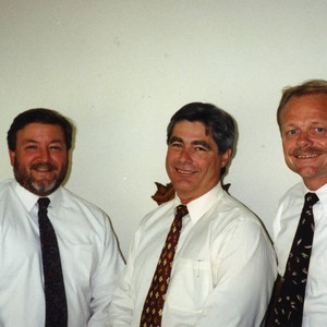 Mike Miller, Les Perry and John Johnston
