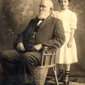 D.F. Crowder and grand daughter