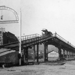 L.A. Cable Railways' Downey Ave. Viaduct