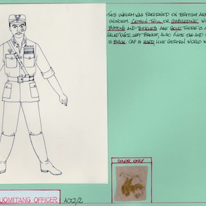 Kuomitang Officer (Male Extra) -- Act 2/Scene 2