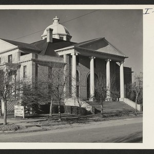 First Christian Church, Hereford, Deaf Smith County, Texas. Numerous opportunities for evacuee ...