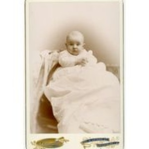 Mary Dockweiler as a baby, circa 1895