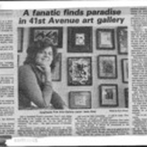 A fanatic finds paradise in 41st Avenue art gallery