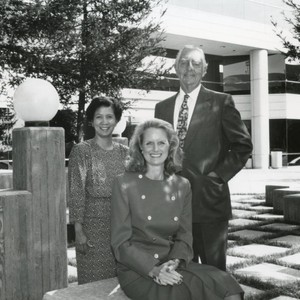 GSEP Development Team: Unknown lady, Nancy Strouse, Dr. Oly Tegner