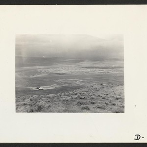 Tule Lake, Newell, Calif.--A panorama view of this War Relocation Authority project ...