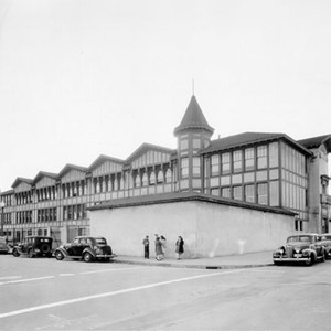[Exterior of Marshall Elementary School]