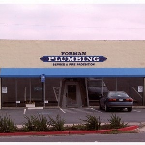 Forman Plumbing located at Petaluma Blvd. South, Petaluma, California, Sept. 25, 2001