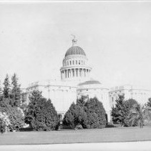Exterior view of the California State Capitol