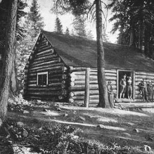 Social Hall at Gold Lake Camp