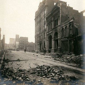 California Street, San Francisco Earthquake and Fire, 1906 [photograph]