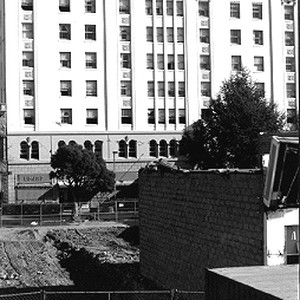Hotel Palomar after the 1989 Earthquake