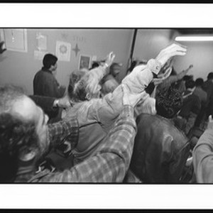 Men in prayer, Victory Outreach Church, North Hollywood, California, 1996