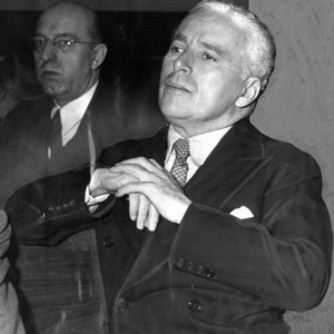 Charlie Chaplin during trial