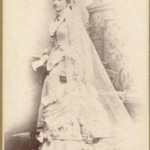 Woman in Wedding Dress
