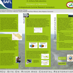 Macroinvertebrate Response to Geomorphologic Change - POSTER