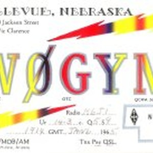 QSL Card to K6JI from W0GYM