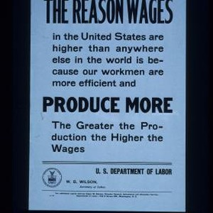 The reason wages in the United States are higher than anywhere else ...