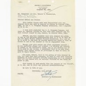 Letter from Isidore B. Dockweiler to Edward Vincent Dockweiler and Jeanne Dockweiler, ...