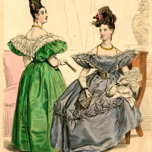 Dinner dress and full dress, Winter 1831