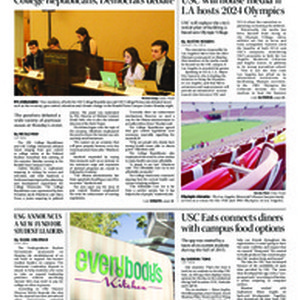 Daily Trojan, vol. 187, no. 09, Jan 26, 2016