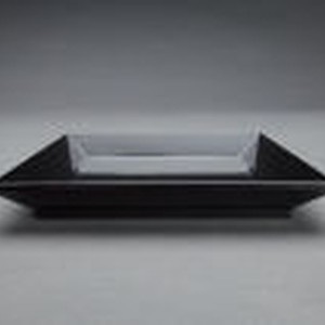 Square tray for specially featured tea utensils