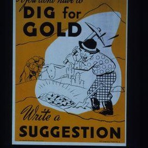 You don't have to dig for gold. Write a suggestion